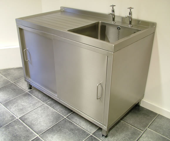 Stainless Design Services Ltd Catering Sink & Cupboard Units
