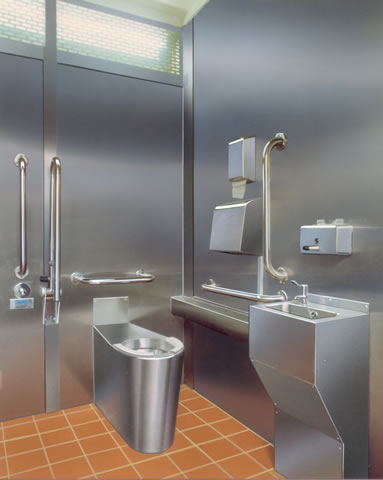 Disabled Use WC Pans And Document M Accessories