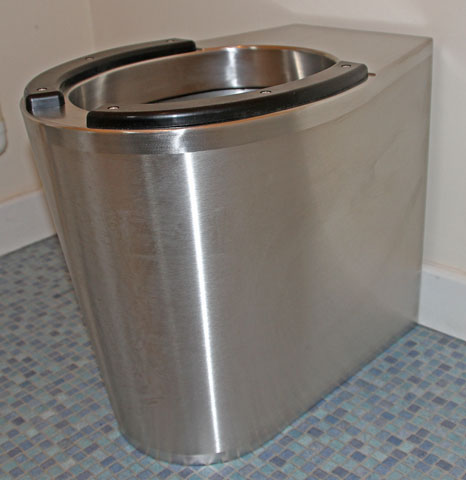 Stainless Steel Shrouded Wc Pans