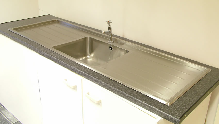 Stainless Design Services Ltd Single Bowl Inset Sink Tops