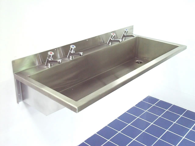 Wall Mounted Wash Troughs