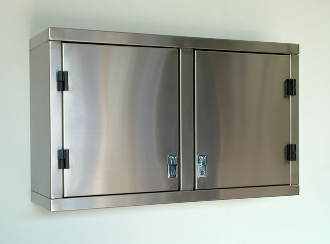 Stainless Design Services Ltd Wall Mounted & Tall Cupboard Units